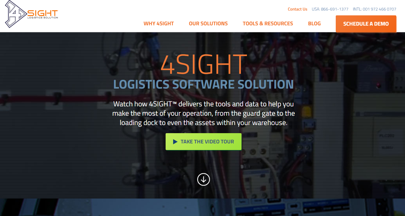 4SIGHT 仓库管理软件,4SIGHT Warehouse Management Software